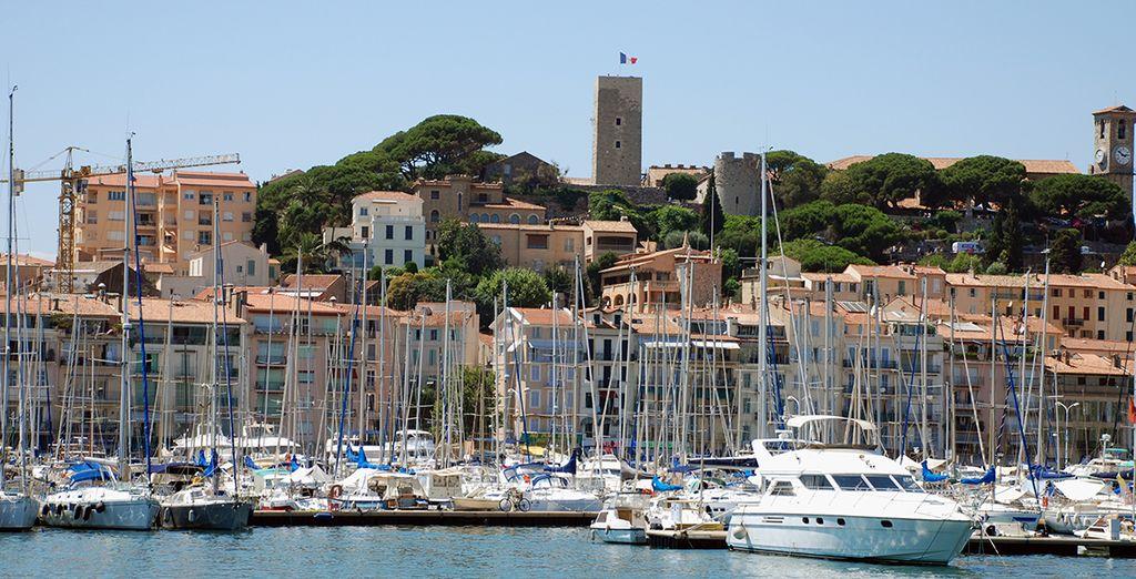 Bienvenue à Cannes...