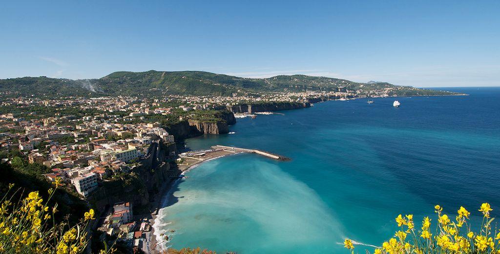La splendide baie de Naples...