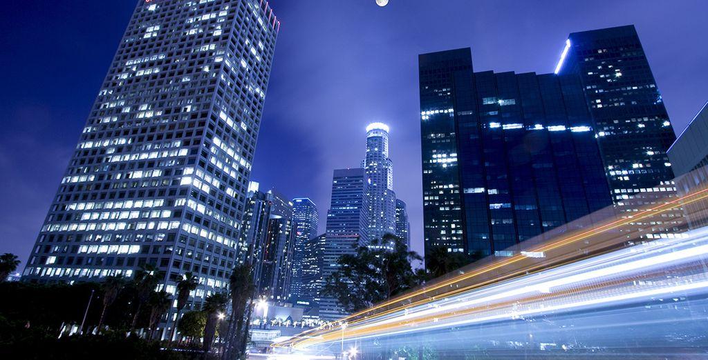La tentaculaire Los Angeles...