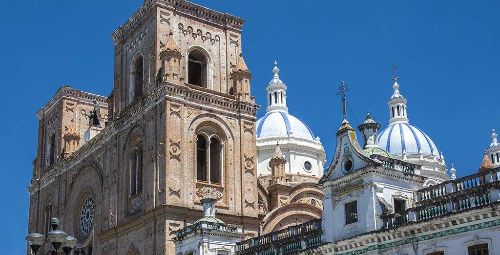 Vous aimerez les villes à l'architecture coloniale, certaines classées par l'Unesco...
