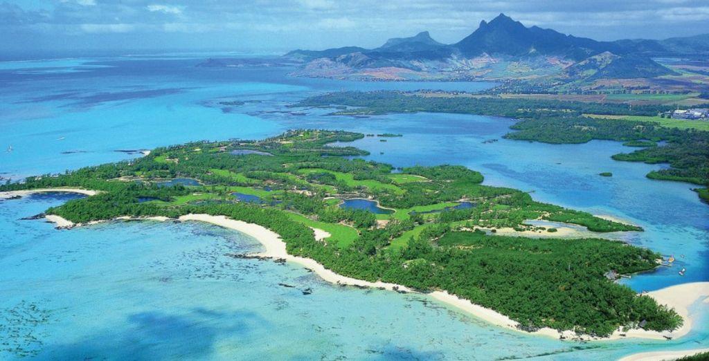 Faites une partie de golf sur l'île aux Cerfs...