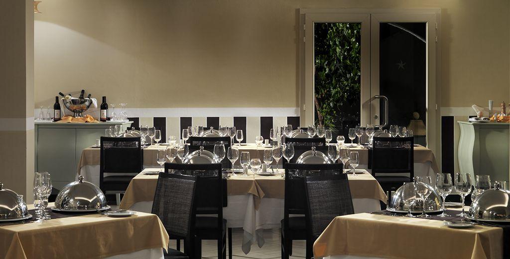 Quand viendra l'heure du repas, vous apprécierez la formule tout inclus comprise dans votre séjour...