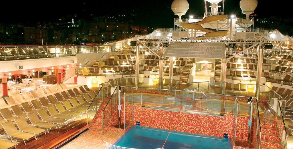 Un superbe navire, sur lequel vous serez confortablement installé