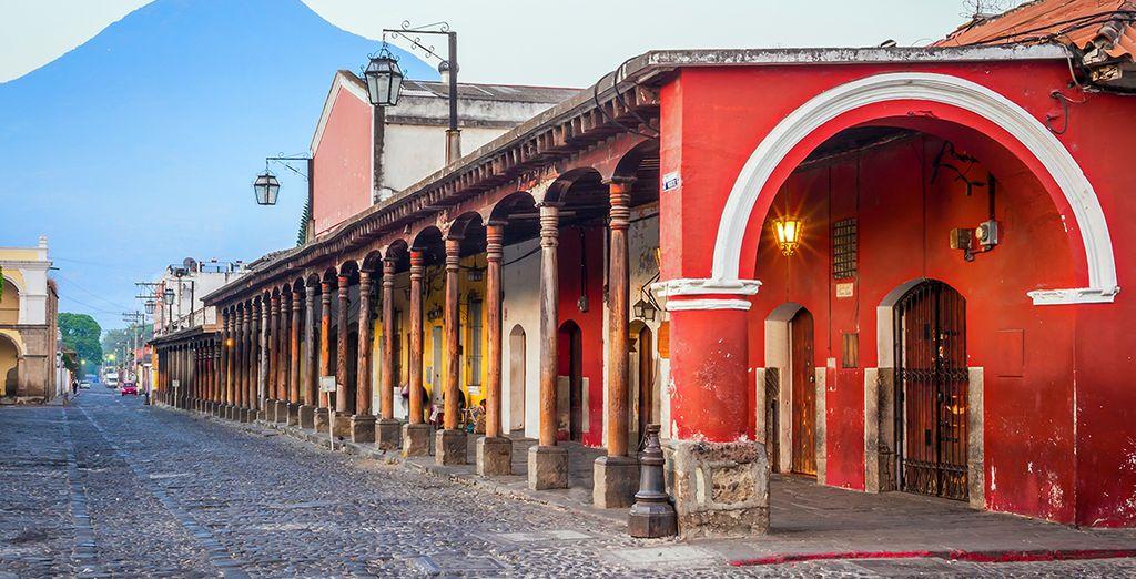 Et la ville d'Antigua à l'exceptionnelle architecture coloniale