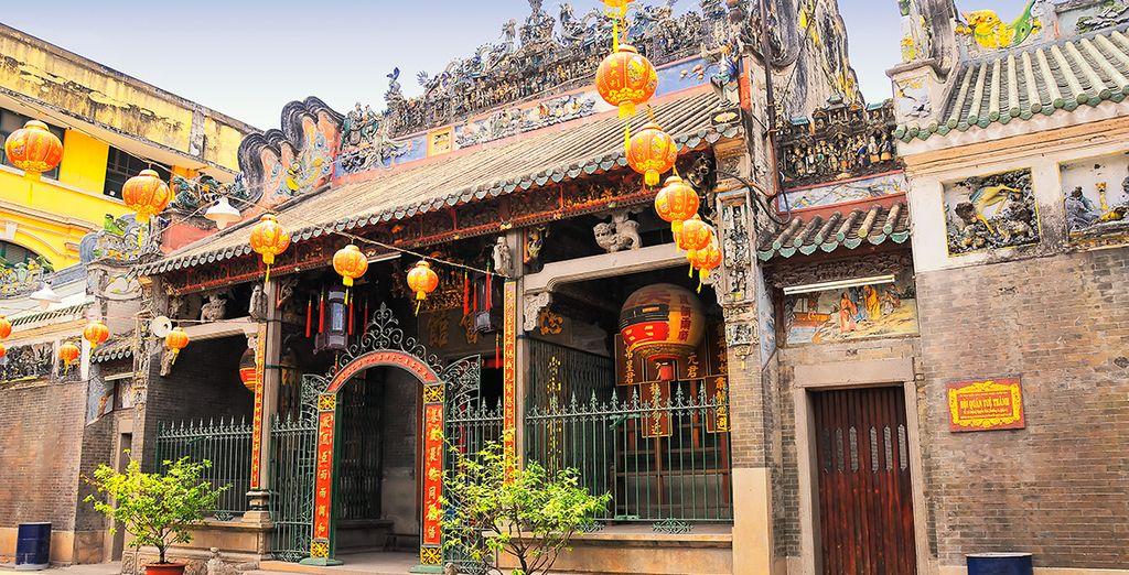 Avant de terminer ce merveilleux séjour à Ho Chi Minh !