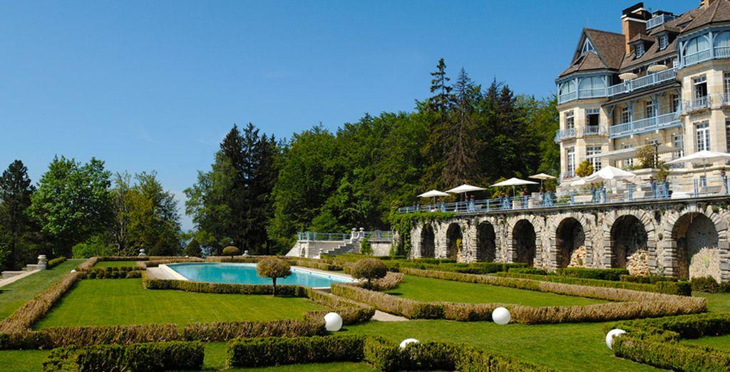 Domaine des Avenières, une hébergement de charme avec jardin et piscine, à proximité d'Annecy
