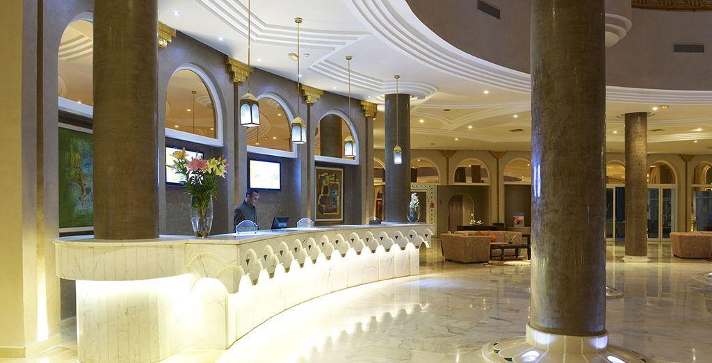 En plein coeur du luxueux Vincci Taj Sultan - Hôtel Vincci Taj Sultan 5* Hammamet