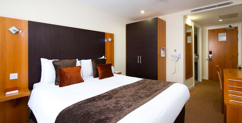 Pour rejoindre un hôtel confortable