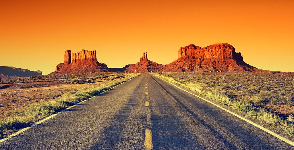 Prenez la route & lancez-vous à la conquête de l'Ouest...