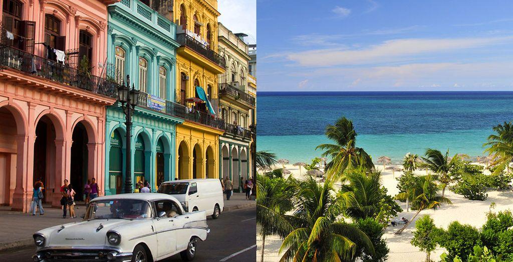 Que diriez-vous de partir pour une virée urbaine et un séjour balnéaire ?
