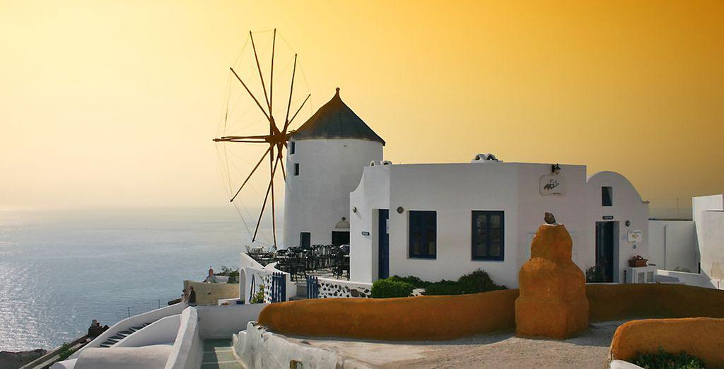 Combiné Cyclades : Athènes, Mykonos, Paros, Naxos, Santorin en hôtels 4* et 5*