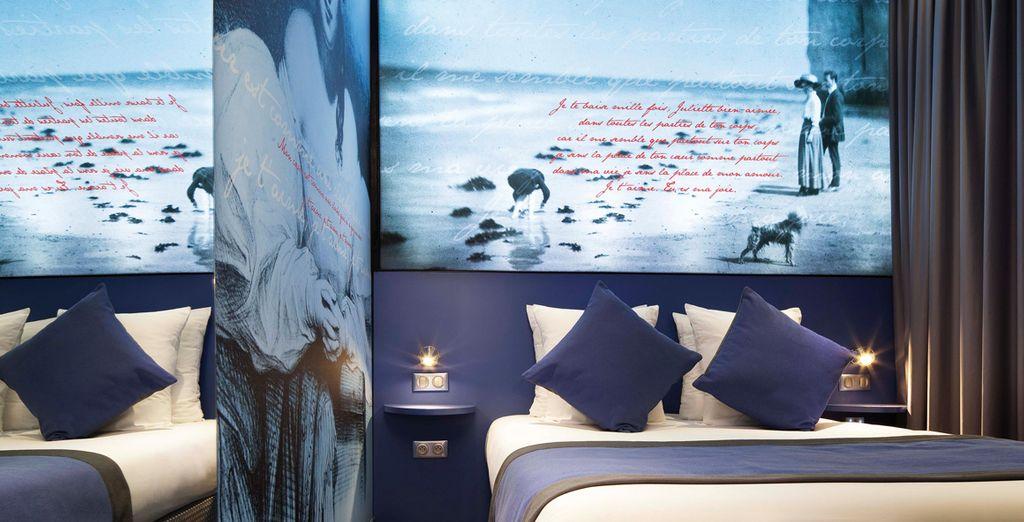 La chambre Deluxe Victor Hugo et Juliette Drouet