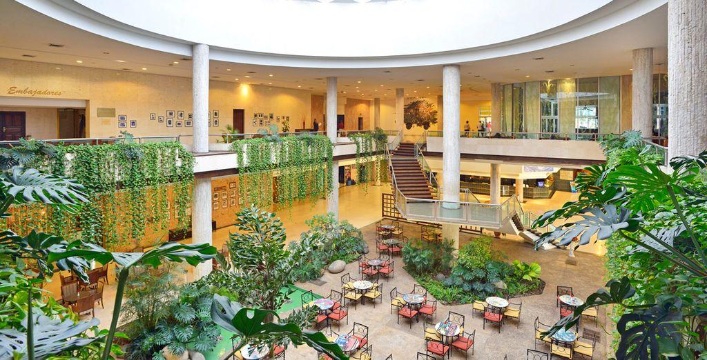 Vous séjournerez à l'hôtel Tryp Habana Libre 4*