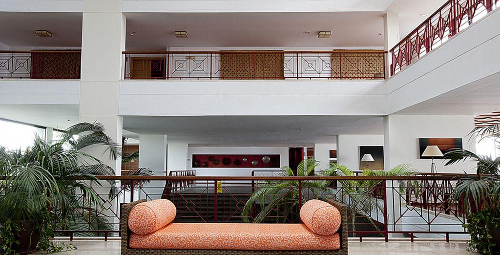 Découvrez un hôtel à la décoration raffinée..