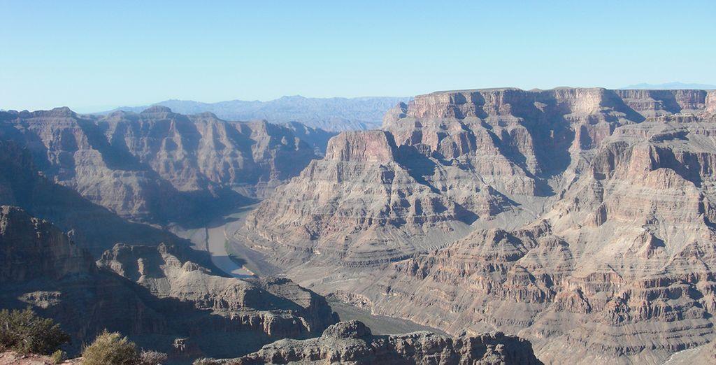 Ce sera ensuite au tour du grand Canyon de vous émerveiller...