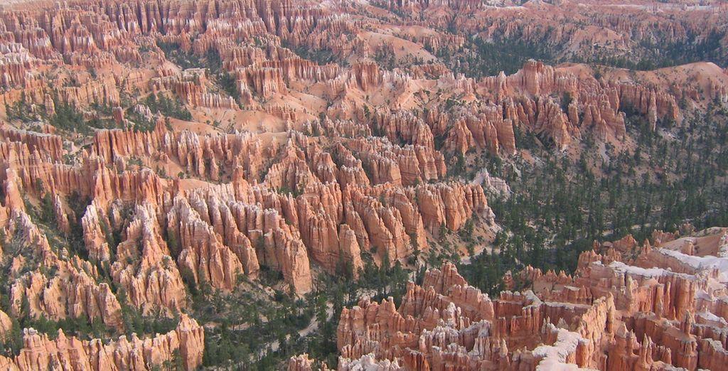 Vous traverserez la fameuse Monument Valley pour vous rendre à Bryce Canyon