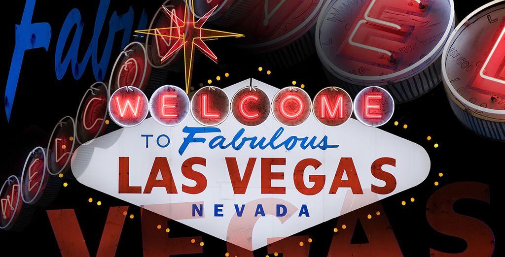 Vous ferez route vers le Nevada où Las Vegas vous ouvrira les portes de la démesure façon U.S !