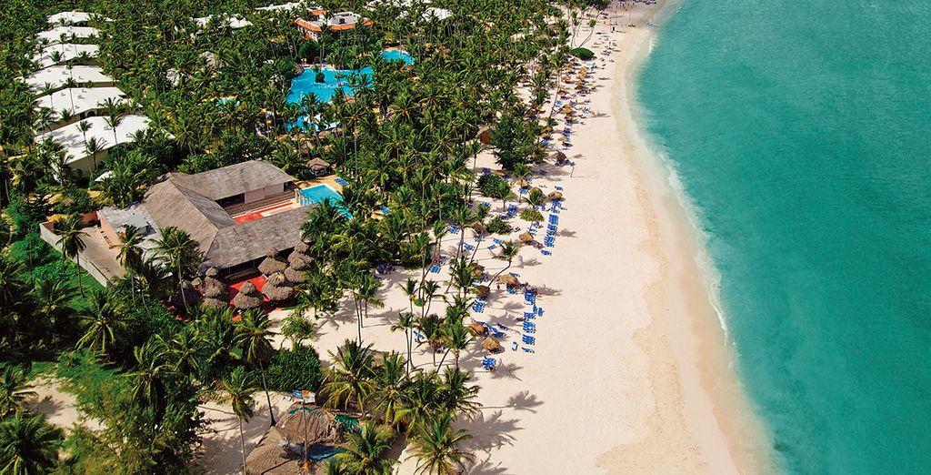La plage paradisiaque de Bavaro en accès direct... - Hôtel Melia Caribe Tropical All Inclusive Beach & Golf Resort 5* Punta Cana