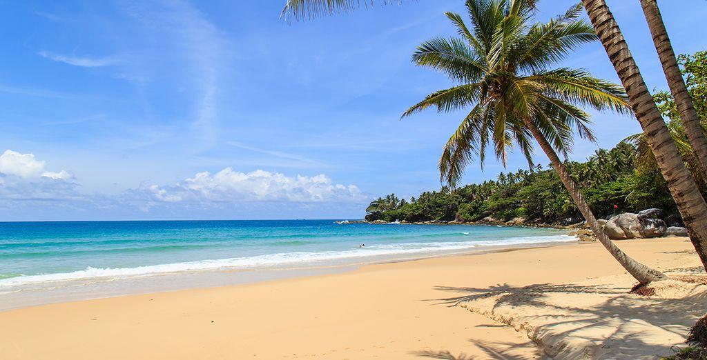 Sur la presqu'île de Phuket en Thaïlande