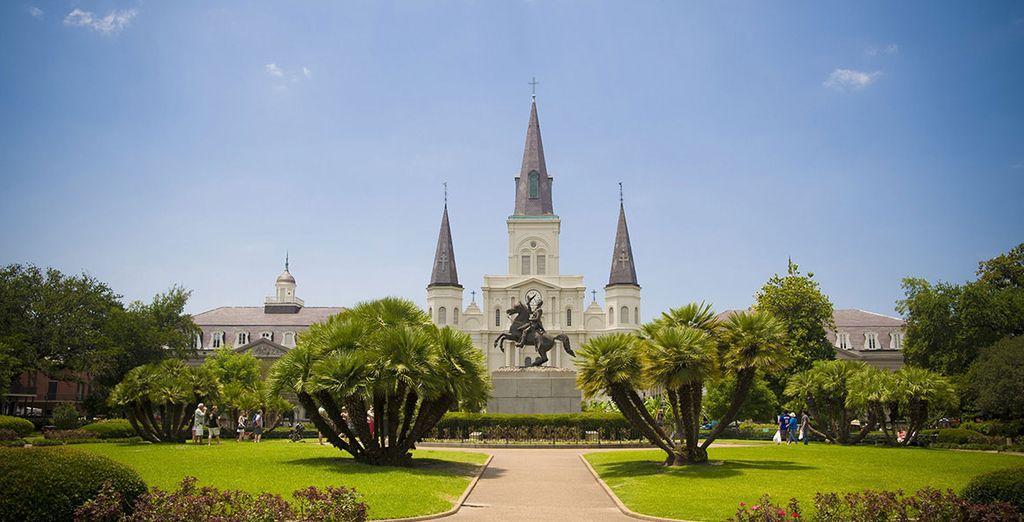 Tout commence à New Orleans !