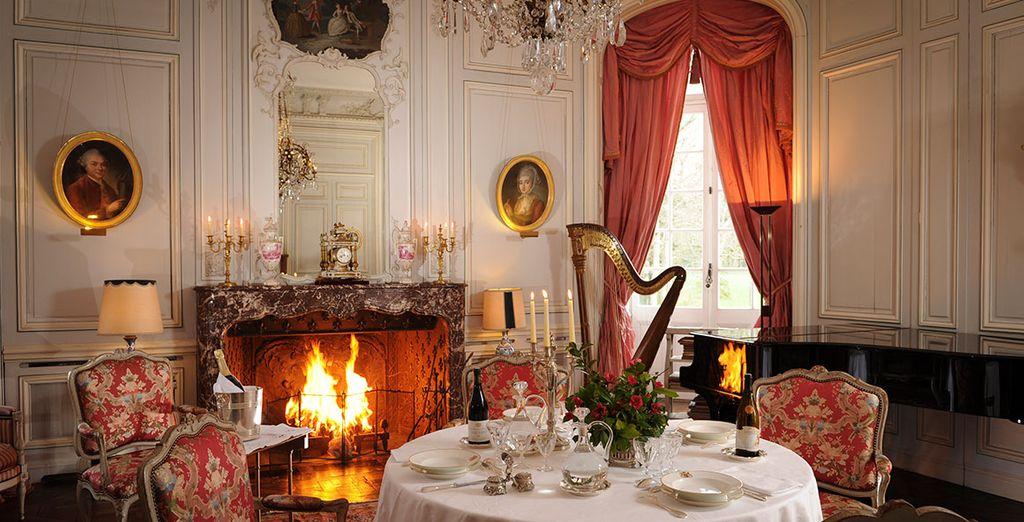 Hôtel de luxe 4 étoiles et retour en histoire au château de Canisy
