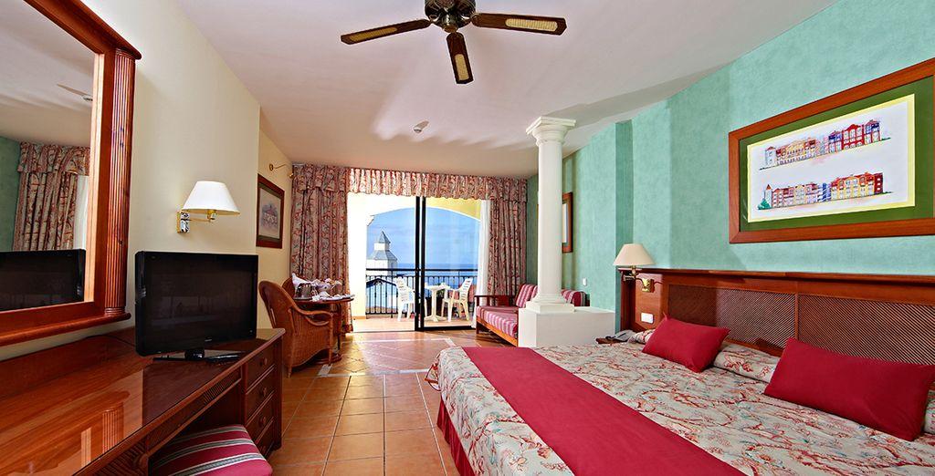 Découvrez votre Junior Suite, agréablement décorée et spacieuse