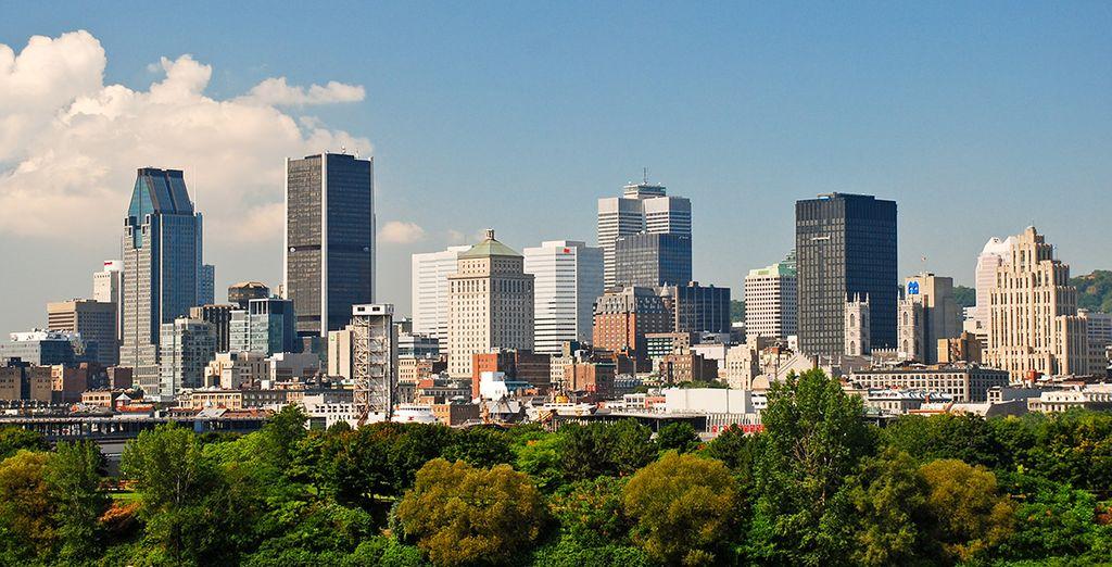 Tout commence ici ! A Montréal pour des journées citadines intenses - Autotour Trio Magique – Québec, Niagara, St Laurent 12/13 nuits Montreal