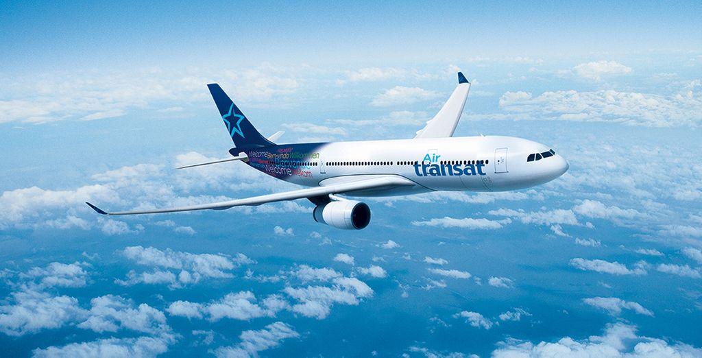 Vous voyagerez avec Air Transat