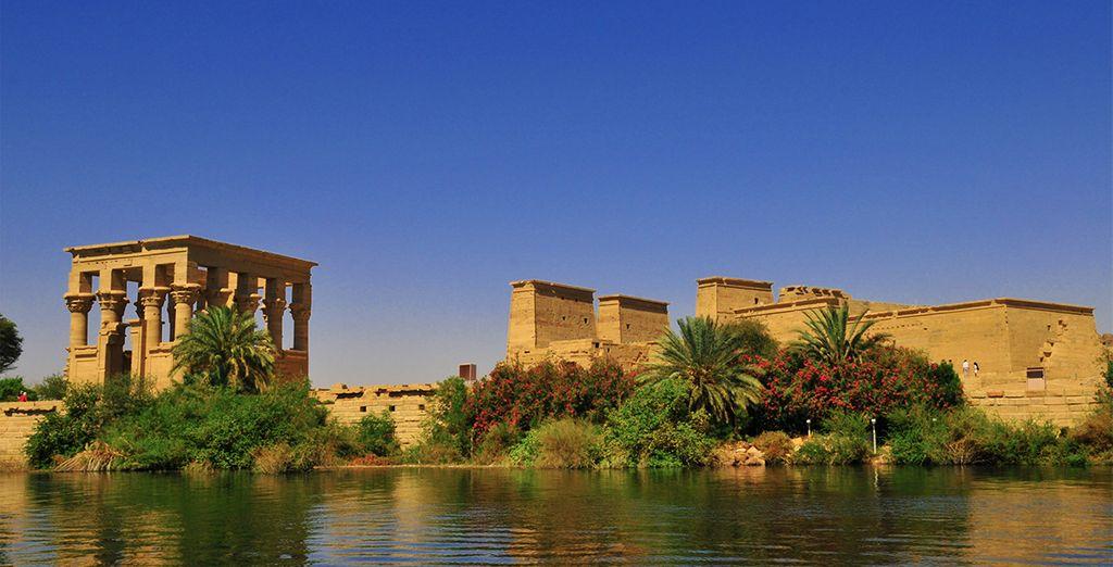 Idéal pour découvrir la richesse du passé égyptien