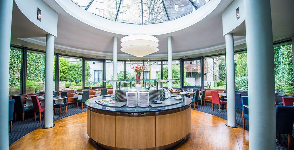 Au coeur du cadre contemporain de votre hôtel, le Silken Berlaymont 4*