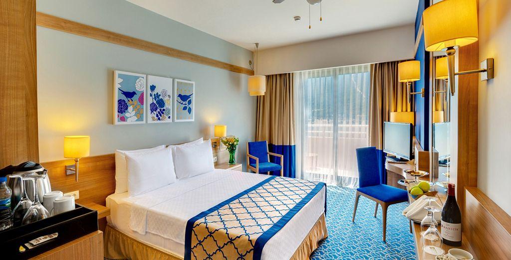Découvrez ce somptueux hôtel depuis votre chambre