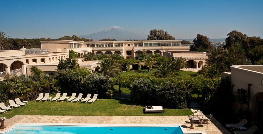 Bienvenue au Romano Palace ! - Romano Palace Luxury Hotel 5* ou Combiné Romano Palace Luxury Hotel 5* & Croisière Sigismondo  Catane