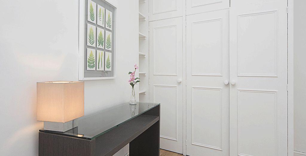 Et un mobilier moderne et cosy sauront vous ravir