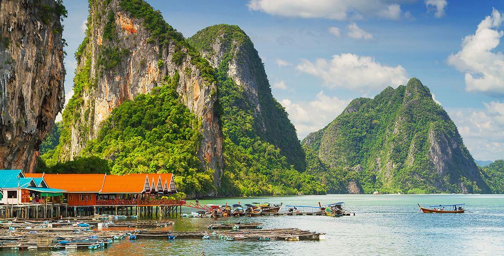 Ainsi que la découverte de l'incroyable patrimoine Thaïlandais !
