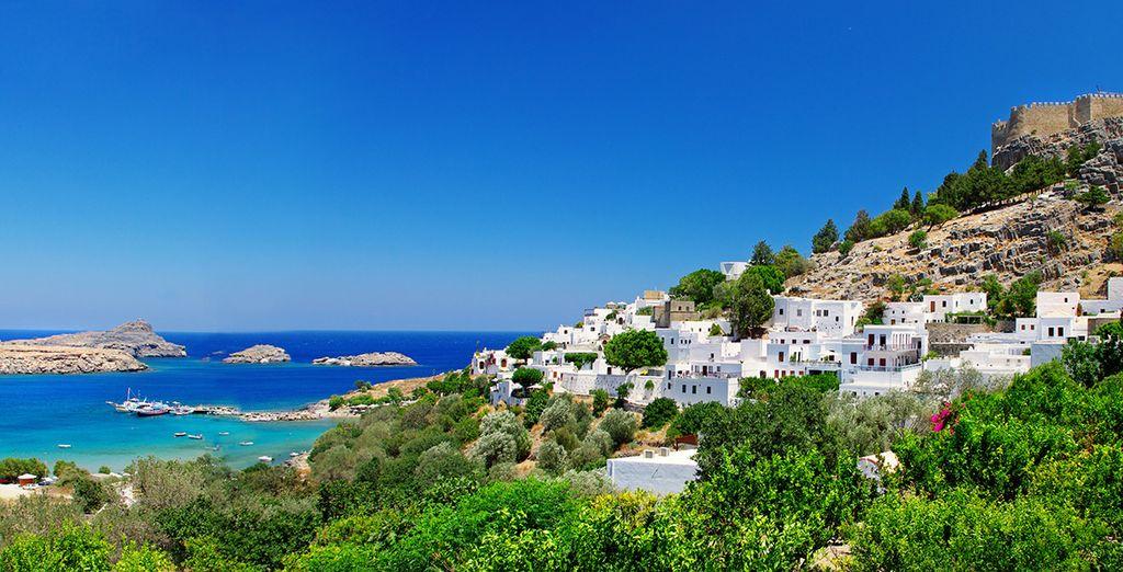Lindos sera le point de départ idéal pour découvrir les trésors de l'île de Rhodes !
