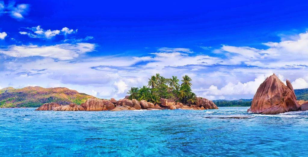 Sous le beau soleil des Seychelles...
