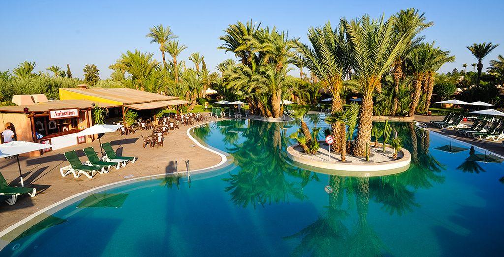 Vous recherchez un établissement familial pour votre virée à Marrakech? - Club Lookéa Royal Issil 4* Marrakech