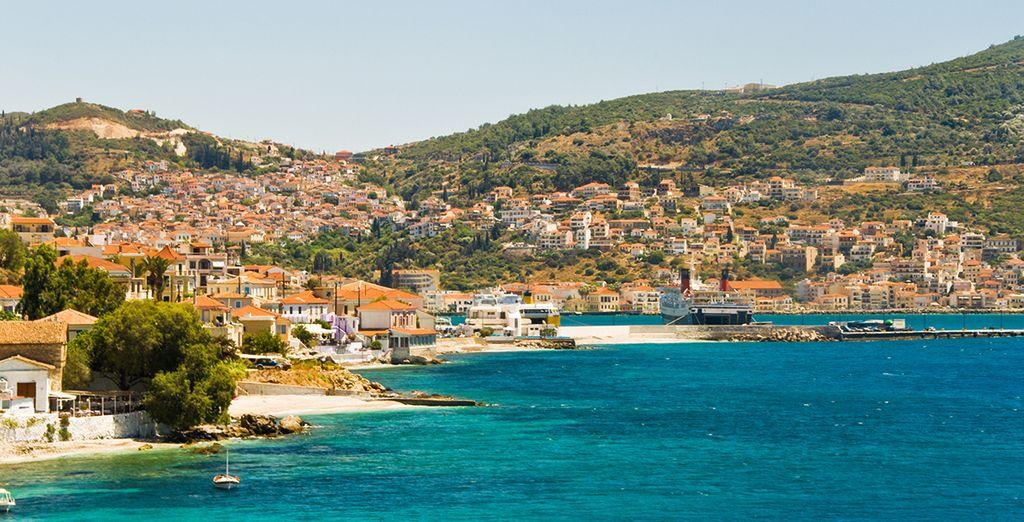 Enfin, tentez une excursion en bateau en direction de l'île de Patmos !
