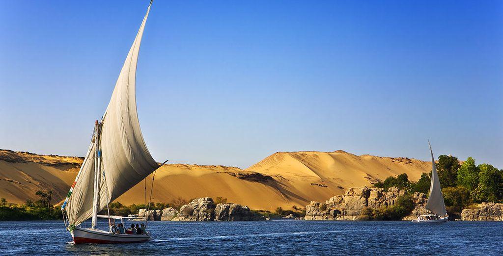 En vous laissant tenter par le Combiné Croisière sur le Nil...