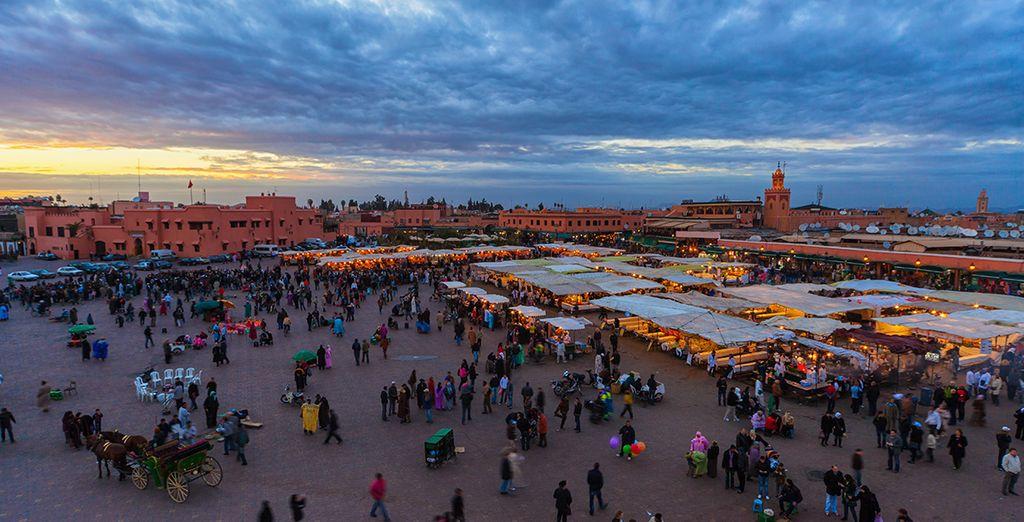 Marrakech a tant à vous faire découvrir...