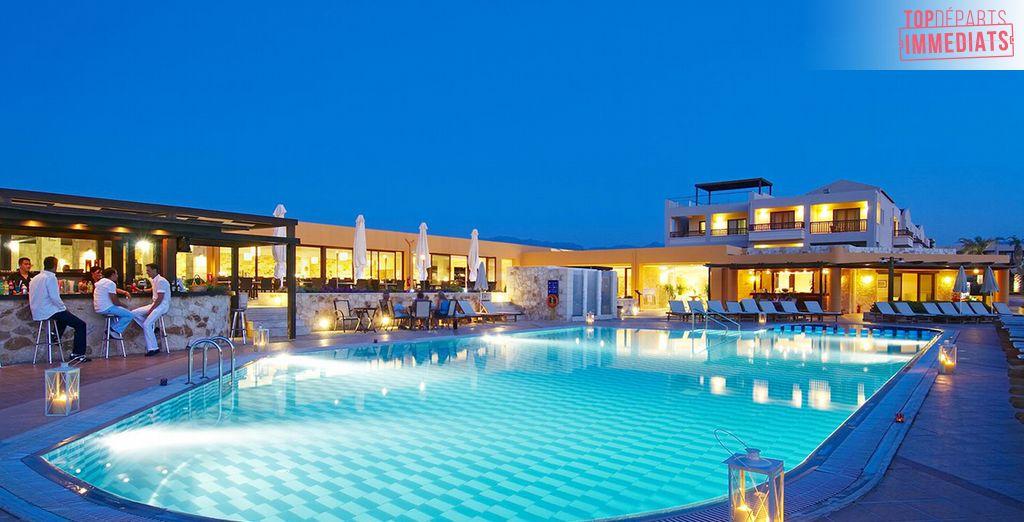 Posez vos valises en Crète...