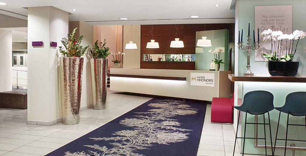Le Hilton Brussels City vous ouvre ses portes