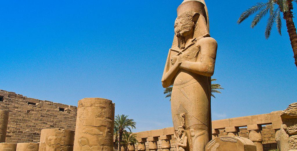 Craquez pour la croisière et découvrez Louxor et le temple de Karnak...