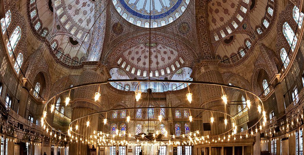 La mosquée Bleu & tant d'autre trésors !