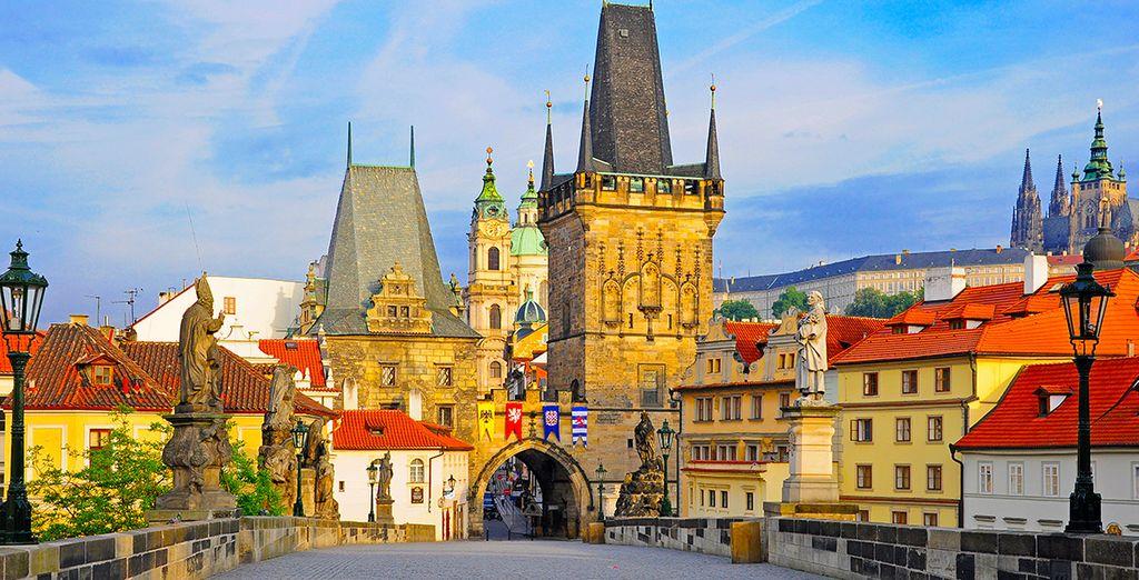 Partez à la découverte de Prague et de son fameux Pont Charles