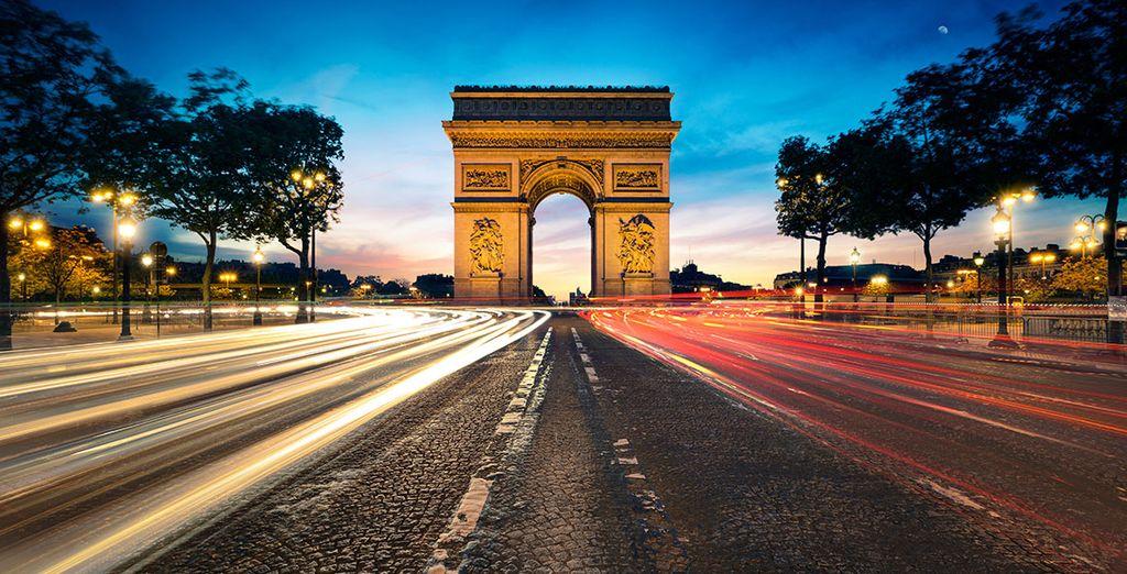 À deux pas des Champs Elysées...