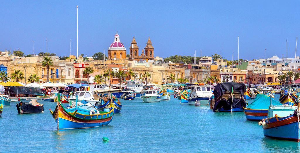 Pour découvrir le charme et le patrimoine maltais...
