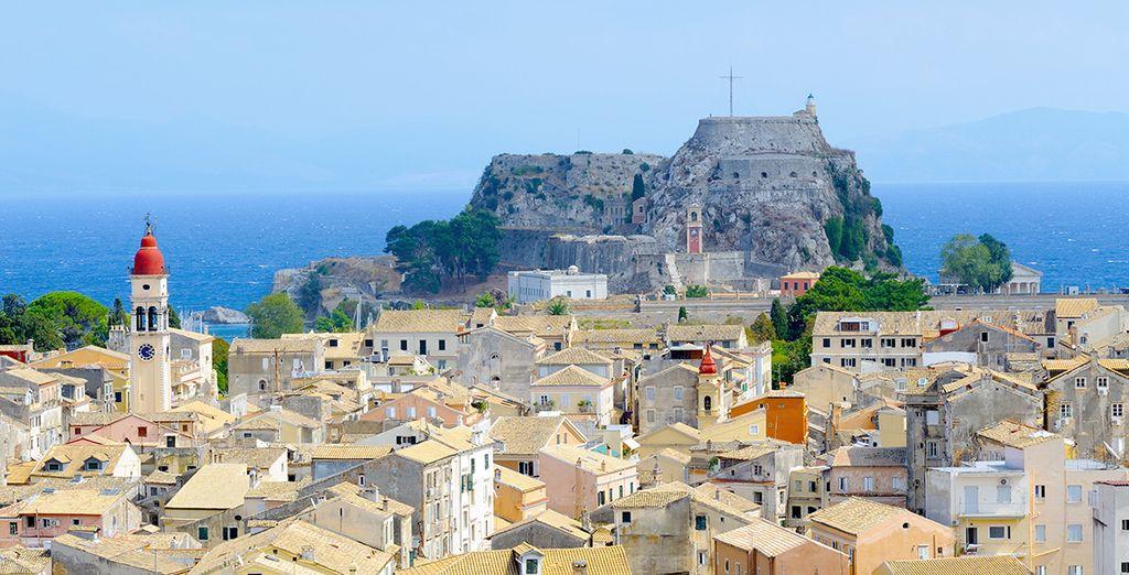 Enfin, découvrez des villages typiques de Corfou