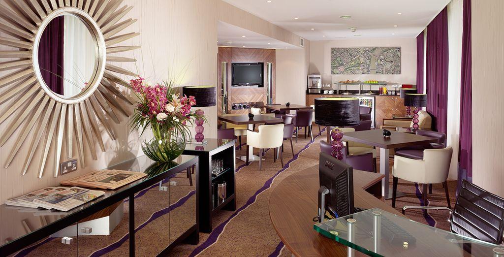 Et posez vos valises au très chic et design hôtel...
