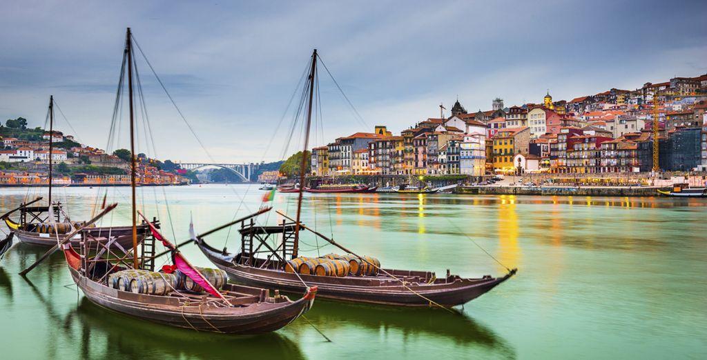 Photographie de la ville de Porto à découvrir lors d'un circuit autour de Lisbonne